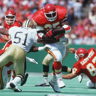 Christian Okoye, the Nigerian Nightmare, Former Chiefs Running Back!