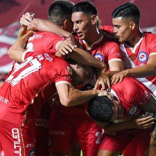Gol de Argentinos: Fausto Vera 2-2