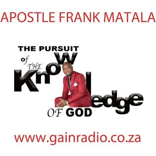 Season 1 - Apostle Frank Matala