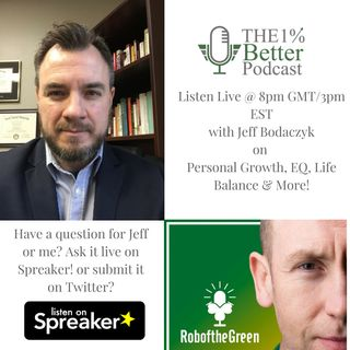Live Show with Jeff Bogaczyk of the Mind for Life Podcast - EP072