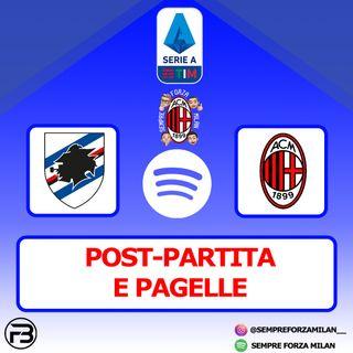 SAMPDORIA-MILAN 1-2 | PAGELLE e POST PARTITA