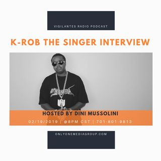 K-Rob The Singer Interview.