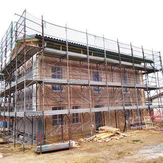 13-Com'è realizzato un tetto di una casa di paglia?