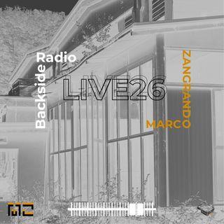 Backside Radio Live26_Marco Zangrabdo