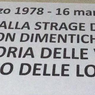 Italia Celere commemorerà le vittime della strage di via Fani.