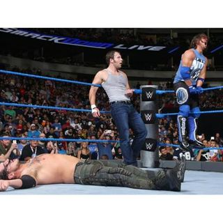 HEADBANGERS RETURN! WWE SMACKDOWN REVIEW 8/30/2016 (NOISEBLEED PODCAST #20)