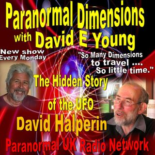 Paranormal Dimensions - David Halperin - The Hidden Story of the UFO - 03/22/2021