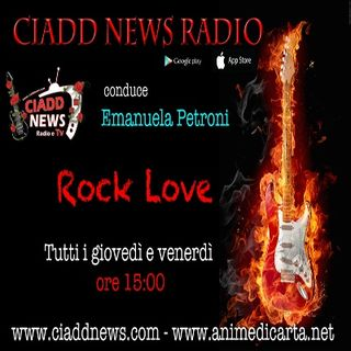 ROCK LOVE - conduce Emanuela Petroni - interviste Rock n° 1