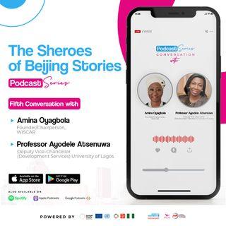In Conversation with Professor Ayodele Atsenuwa & Amina Oyagbola