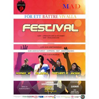 Ade Mohamed Farah om Festivalen 16 december i Vivalla