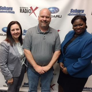 Shantell Wilson with the Gwinnett County Office of Economic Development and Danielle Cheung with Bank of America Merrill Lynch