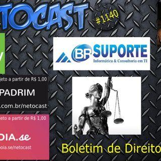 NETOCAST 1140 DE 15/04/2019 - BOLETIM DE DIREITO