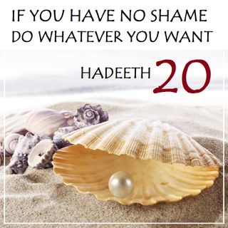 "40H#20: ""If You Have No Shame, Do As You Wish!"""