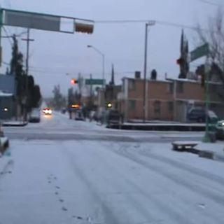 Frente frío 26 mantiene bajas temperaturas en la mayor parte del país