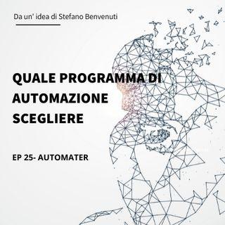 25 Quale programma di automazione scegliere