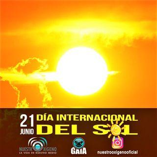 NUESTRO OXÍGENO 21 de junio Día Internacional del Sol