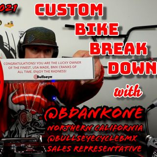 UMP Ep  #021 | Bdank was here | Complete Bullseye BMX build on GERONIMO 29er
