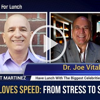 "Dr. Joe Vitale joins Bert Martinez to discuss his latest best-selling book, ""Money Loves Speed"""