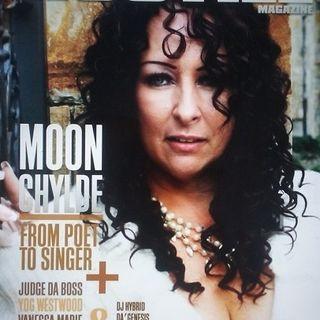 Poet and Singer MoonChylde stops by #ConversationsLIVE