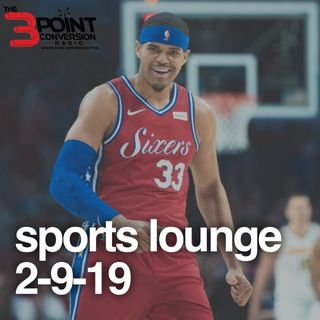 The 3 Point Conversion Sports Lounge- Winners of Trade Deadline, AAF Debuts Today, LBJ & Giannis Teams Even (?), College BBall Big Day