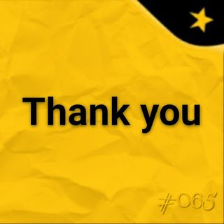 Thank you (#065)