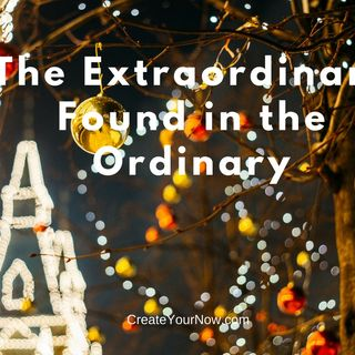 1065 The Extraordinary Found in the Ordinary