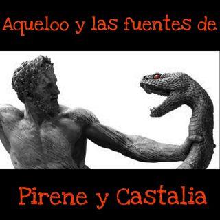 Aqueloo, y las fuentes de Pirene y Castalia
