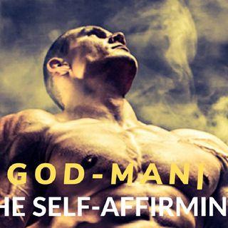 STRONGER SHARPER SOLAR   THE GOD MAN  WILL TO POWER