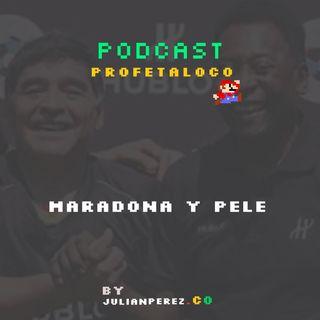 Dato 28 Maradona y Pele