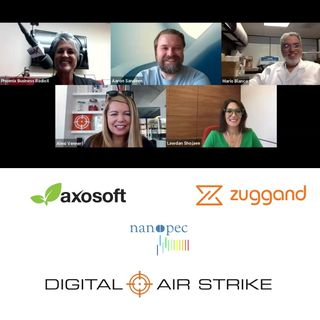 AZ TECHCAST Lawdan Shojaee with Axosoft Alexi Venneri with Digital Air Strike Aaron Sandeen with Zuggand and Mario Blanco with NANOPEC