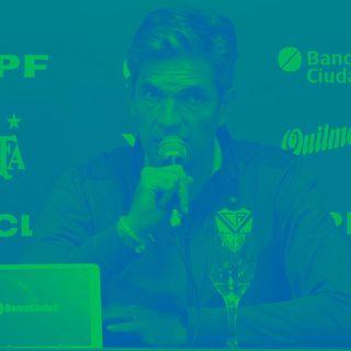 Mauricio Pellegrino y Pablo Galdames