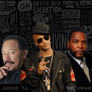 DR UMAR JOHNSON and JUDGE JOE BROWN Take Us To Church .. Rapper, T.I. & Julius Malema (Extended Version)