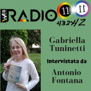 Gabriella Tuninetti intervistata da Antonio Fontana di Radio 11.11