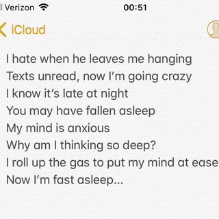 Emotional Purge-Untitled Poem