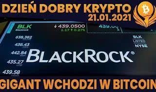 #DDK | 21.01.2021 | BLACKROCK - BARDZO MOCNA WIADOMOŚĆ? TRADING VIEW WPROWADZA ŚWIETNY WYKRES? CO PO OSTATNIM BTC?