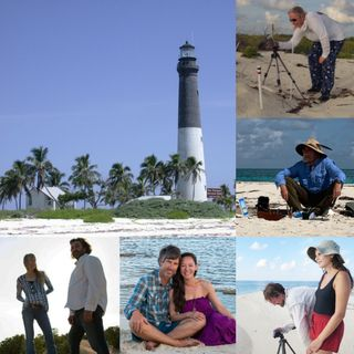 Artists in Dry Tortugas National Park on Big Blend Radio
