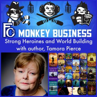 Strong Heroines and World Building with Tamora Pierce
