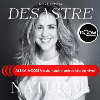 Cantautora ecuatoriana ALEXA ACOSTA Entrevista