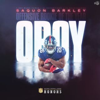 Saquon Barkley ROY but Right Draft Choice?