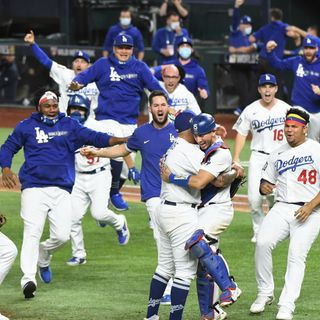DODGERS ROAD TO THE WORLD SERIES