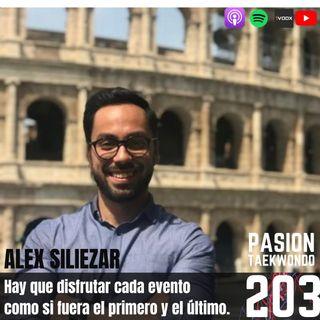 Alex Siliezar: Hay que disfrutar cada evento como si fuera el primero y el último