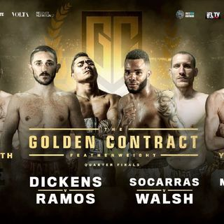 Preview Of The MTK Global Golden Ticket Card Live On Sky Sport's In The UK And Ireland!! Featherweight Boxing Tournament