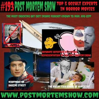 e193 - Don't Fart on My Snare Drum (Top 5 Occult Experts in Horror Movies)