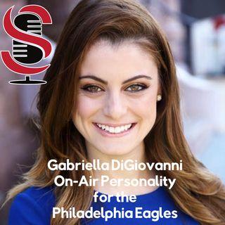 102. Gabriella DiGiovanni, On-Air Personality for the Philadelphia Eagles