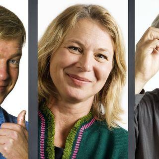 Ofrivillig komik gör komiker arbetslösa. Hej, vi är svenska folket och vi är belöningsnarkomaner & Teknikens tjänare.