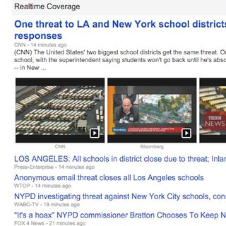 Karel Tue Dec 15 Riveted to LAUSD Threat