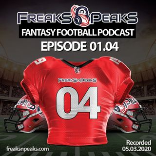 Freaks n Peaks Fantasy Football Podcast Episode 0104 • The Guys Talk 5th Year Option