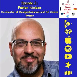 2. Fabian Nicieza, Co-Creator of Deadpool/Marvel and DC Comics Writer