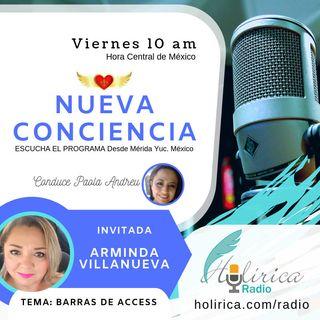 Nueva Conciencia entrevista con Arminda Villanueva