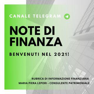 Note di Finanza | Benvenuti nel 2021!